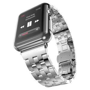 Apple Watch engineer fém óraszíj /ezüst/ 42/44 mm