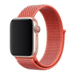 Apple Watch rugalmas szövet óraszíj /nektarin/ 38/40 mm