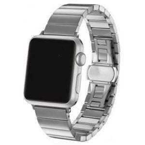 Apple Watch nagy láncszemes fém óraszíj /ezüst/ 38/40 mm