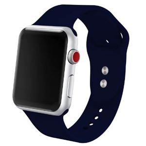 Apple Watch szilikon óraszíj /éjkék/ 42/44 mm